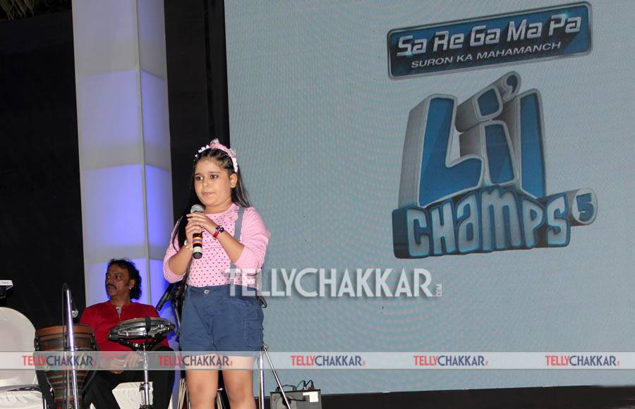Launch of Zee TV's Sa Re Ga Ma Pa Li'l Champs season 5