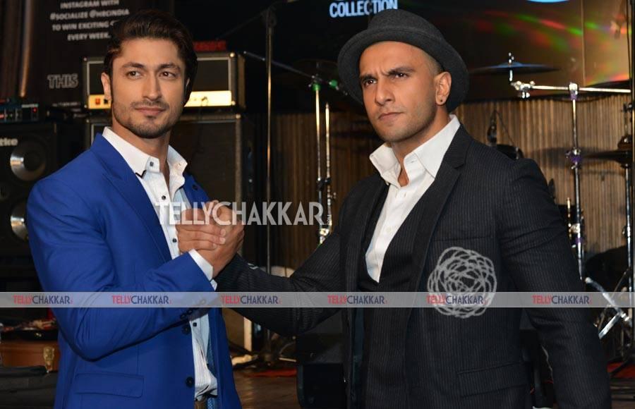 Vidyut Jamwal and Ranveer Singh