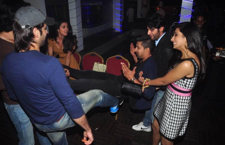 Ravi Dubey's birthday bash
