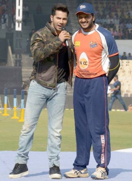 Team Veer Marathi at Celebrity Cricket League