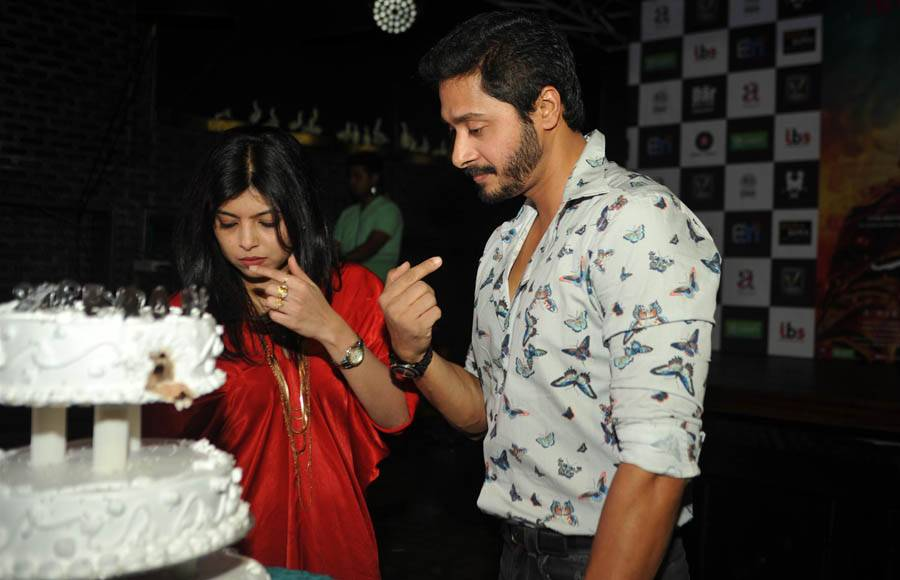 Shreyas Talpade and Jitendra Joshi