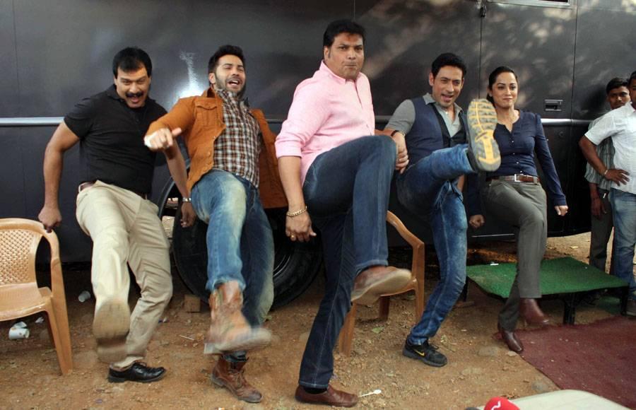 Varun Dhawan promotes 'Badlapur' on Sony TV's CID