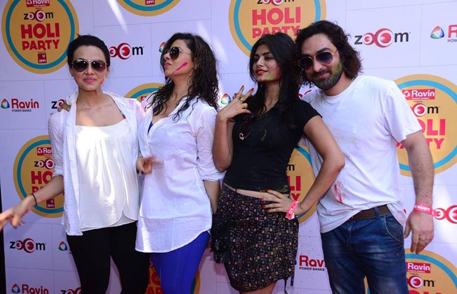 Sana Khan, Sambhavana Seth, Sonali Raut, Praneet