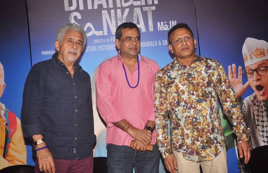 Nasseruddin Shah, Paresh Rawal and Annu Kapoor