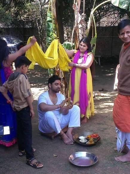 Wedding pics of Ankita Sharma