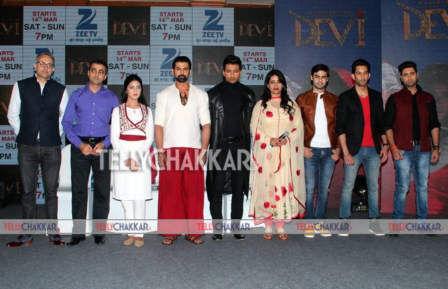 Launch of Zee TV's Maharakshak Devi