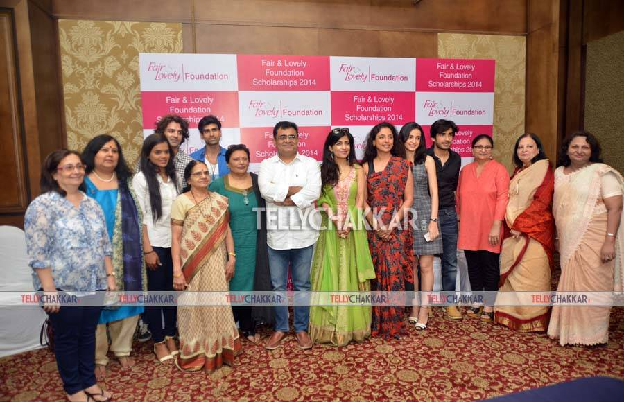 TV celebs at Fair & Lovely Foundation event