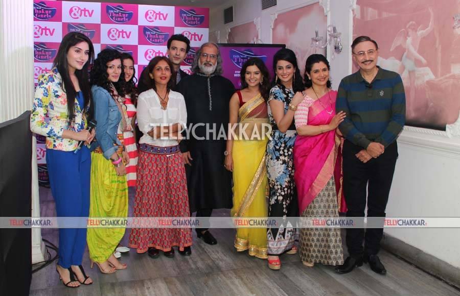 Launch of &TV's 'Dilli Wali Thakur Gurls'