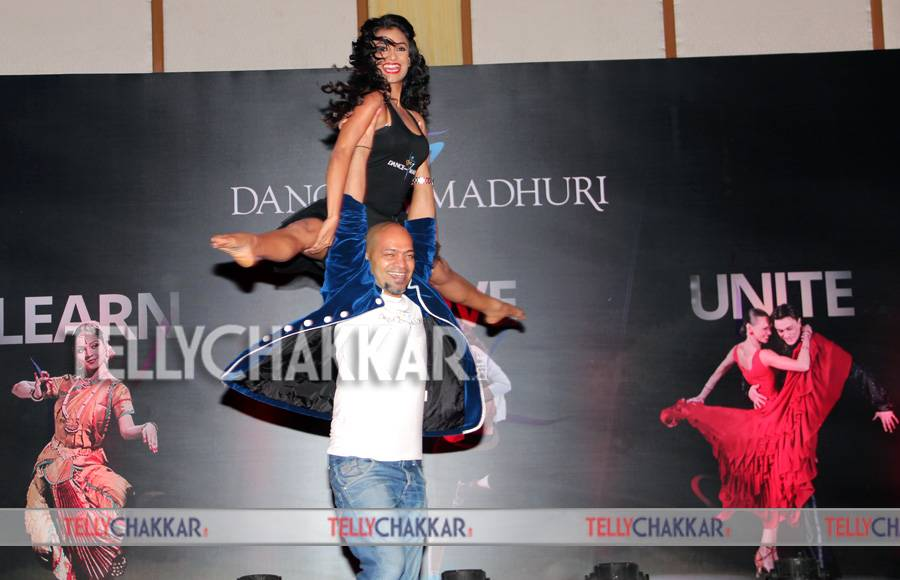 Madhuri Dixit launches her mobile app Dance With Madhuri