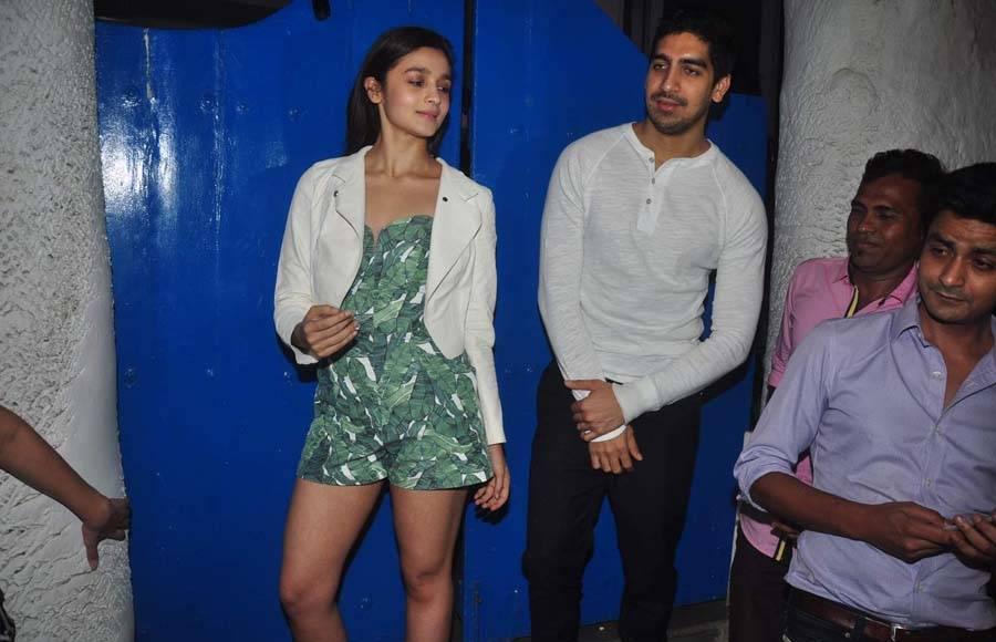 Alia Bhatt and Ayan Mukherjee