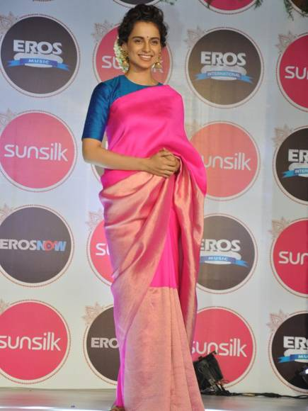 Srirup Mitra (General Manager- Hair care at Hindustan Unilever Ltd), Kangana Ranaut, Krishika Lulla and R Madhavan