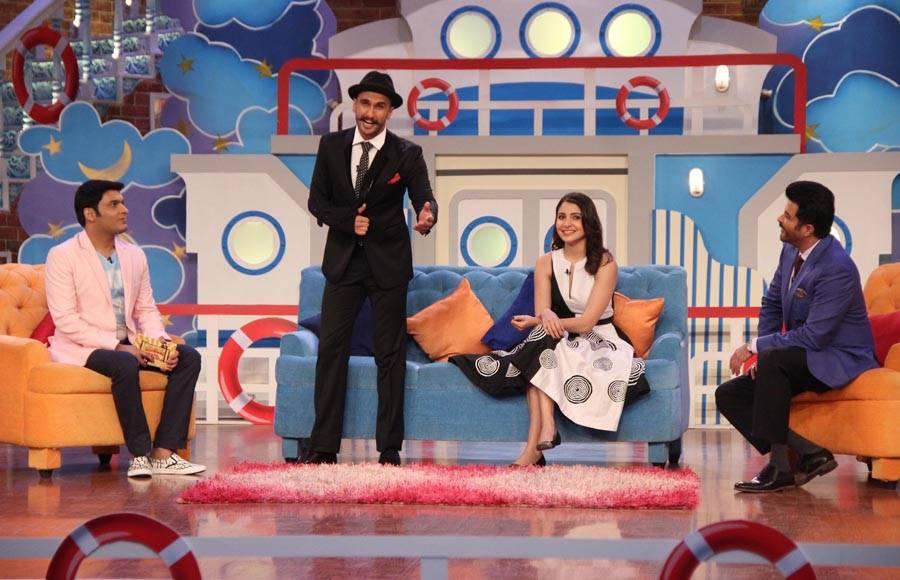 Priyanka Chopra, Anushka Sharma, Ranveer Singh, Anil Kapoor and Shefali Shah