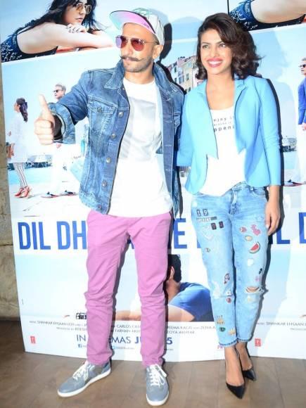 Ranveer Singh and Priyanka Chopra