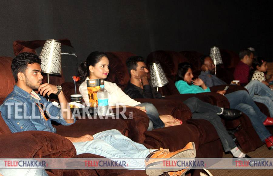 Screening of Motu Patlu-the movie