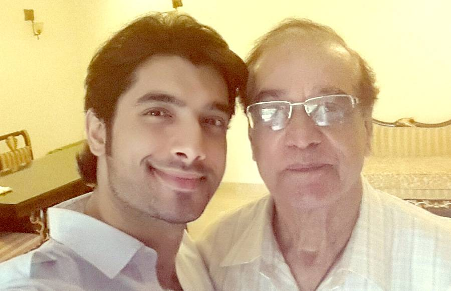 Shivin Narang with father
