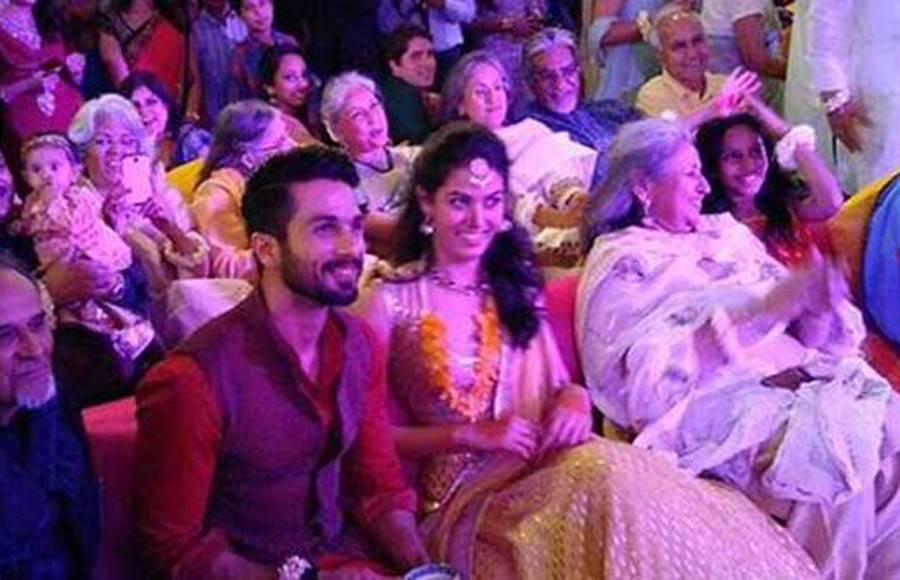 Shahid Kapoor and Meera Rajput