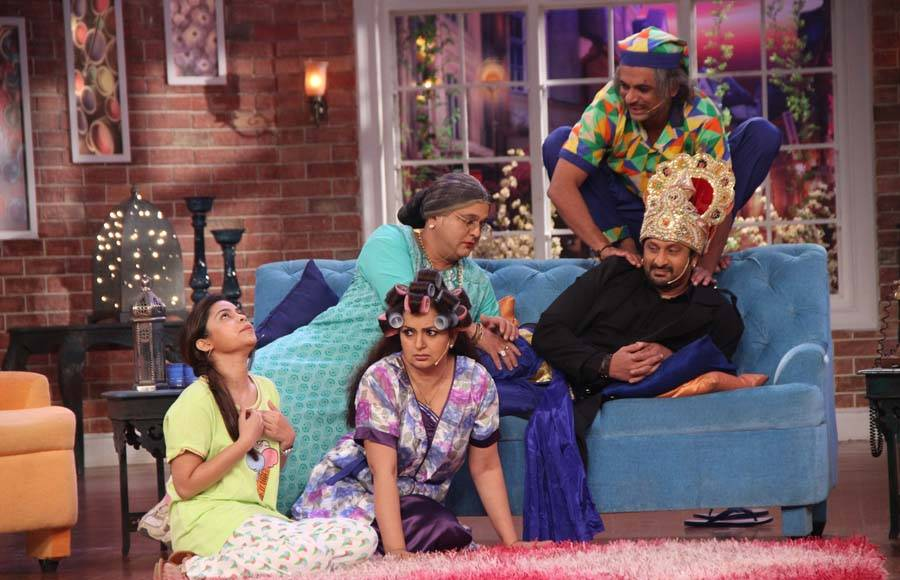 Ajay Devgn and Tabu with Arshad Warsi