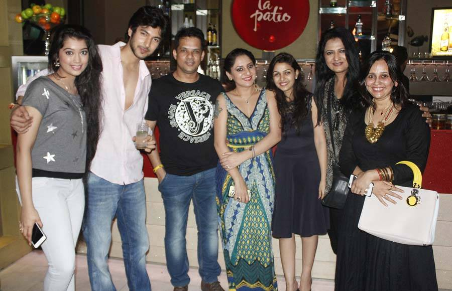 Veera's 'happening' wrap up party