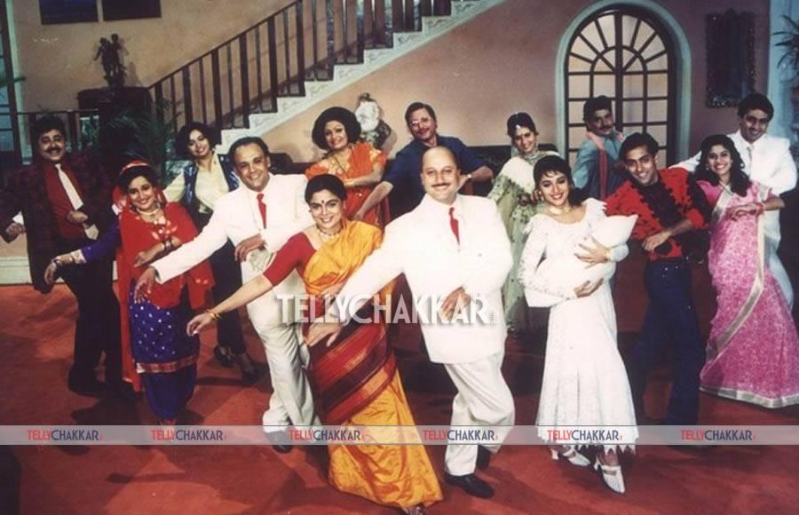 #21HistoricYearsOfHAHK-Hum Aapke Hai Koun actors: Now and Then