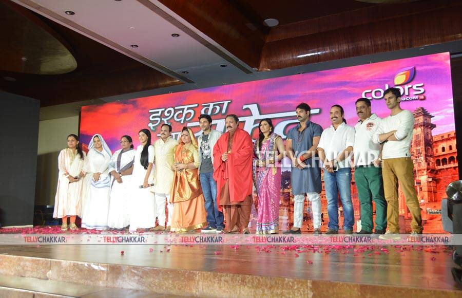 Launch of Colors' Ishq Ka Rang Safed