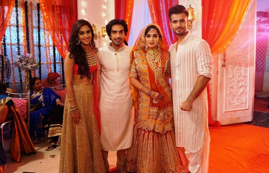 Karan and krystle wedding