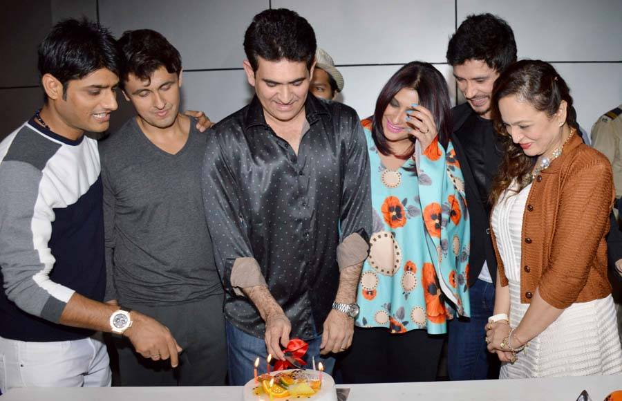 Celebs at director Omung Kumar's birthday party