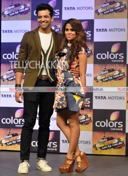 Himmanshoo  Malhotra and Sana Saeed