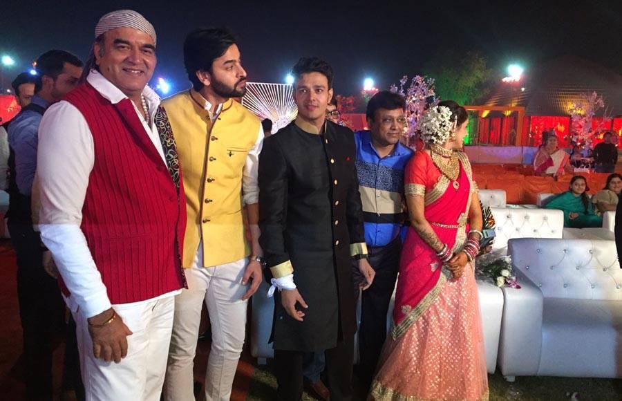 Aniruddh and Shubhi's sangeet ceremony