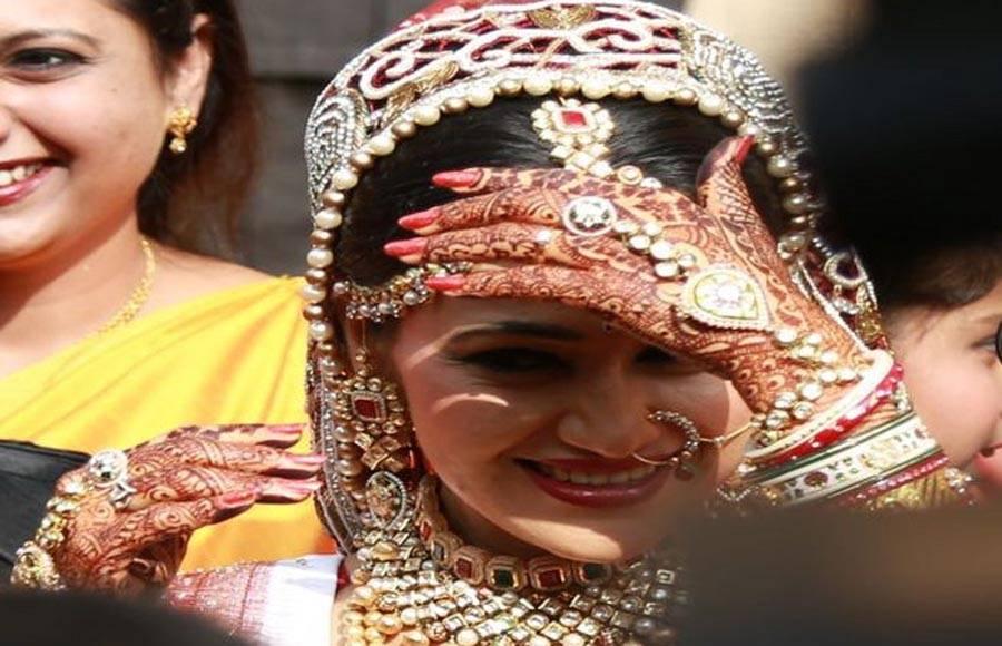 Wedding pics of Disha Vakani