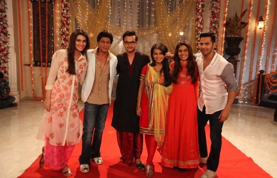Dilwale team on Zee TV shows