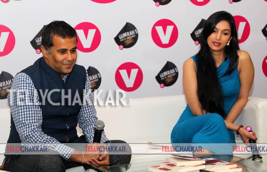 Chetan Bhagat and Ira Trivedi