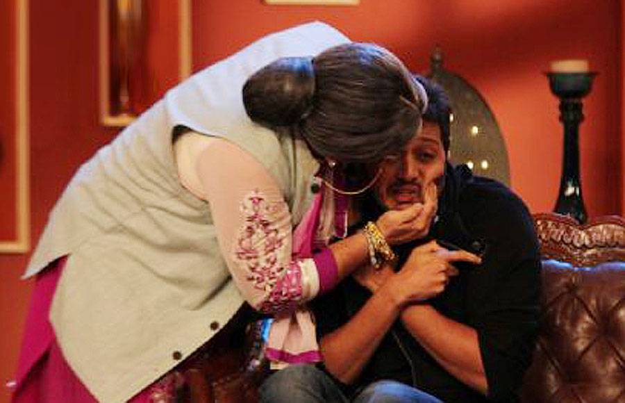 Shah Rukh Khan and Hrithik Roshan