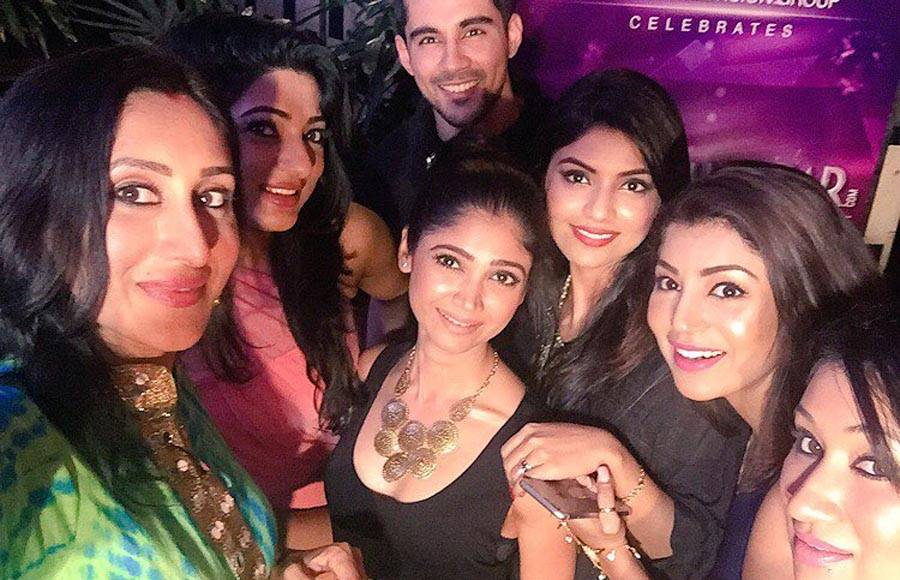 Teejay Sidhu, Ratan Rajpoot, Sayantani Ghosh and Debina Bonnerjee