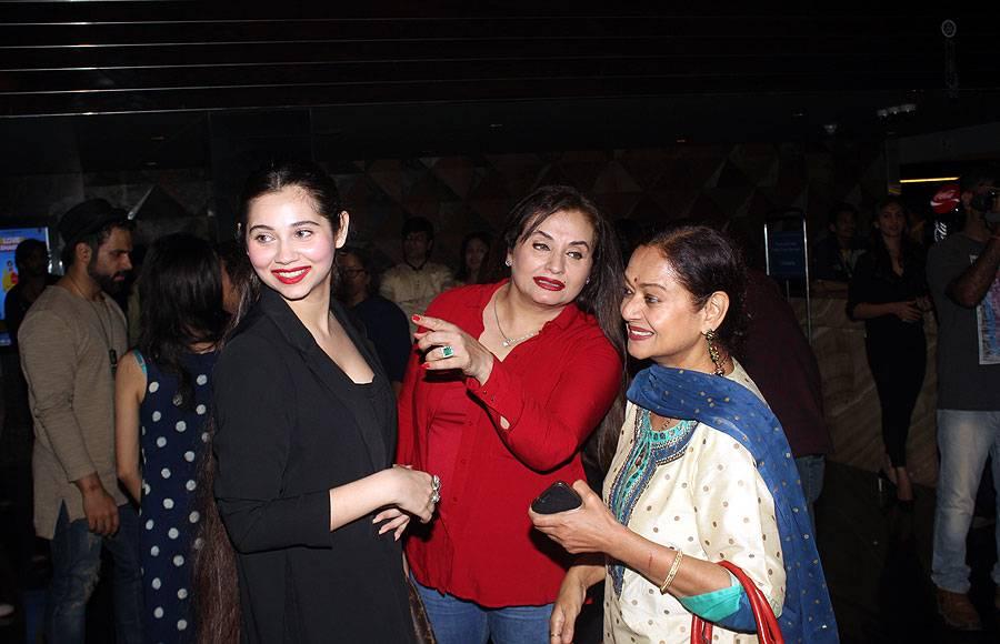 Salma Agha, Sasha Agha and Zarina Wahab