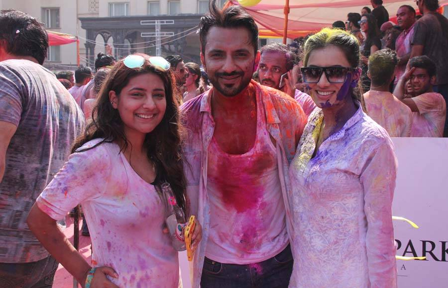 Karan Tacker, Ekta Kapoor and Krystle Dsouza