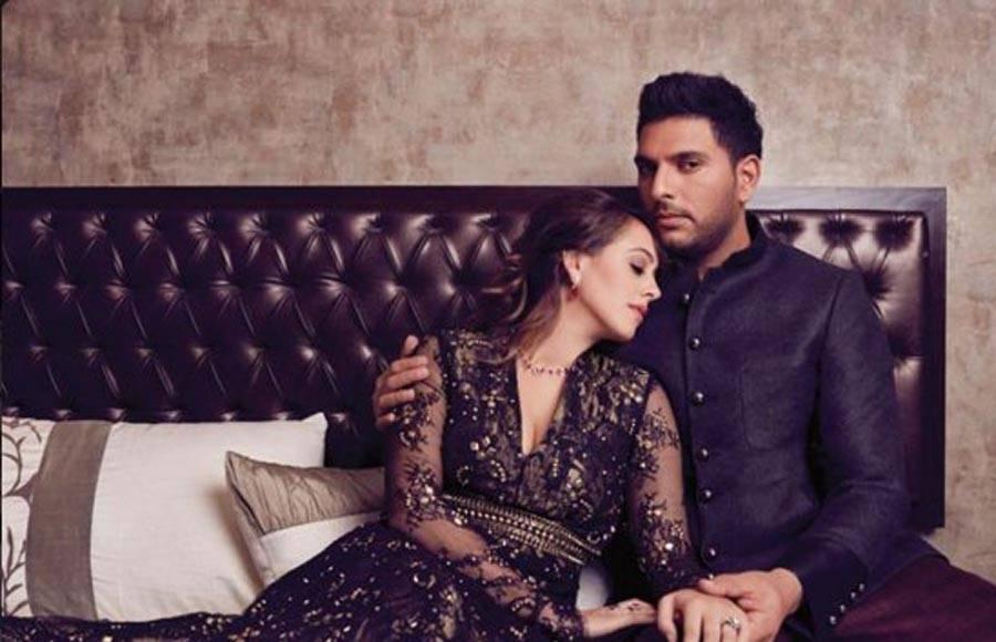 Lovestruck: Yuvraj and Hazel go ROMANTIC