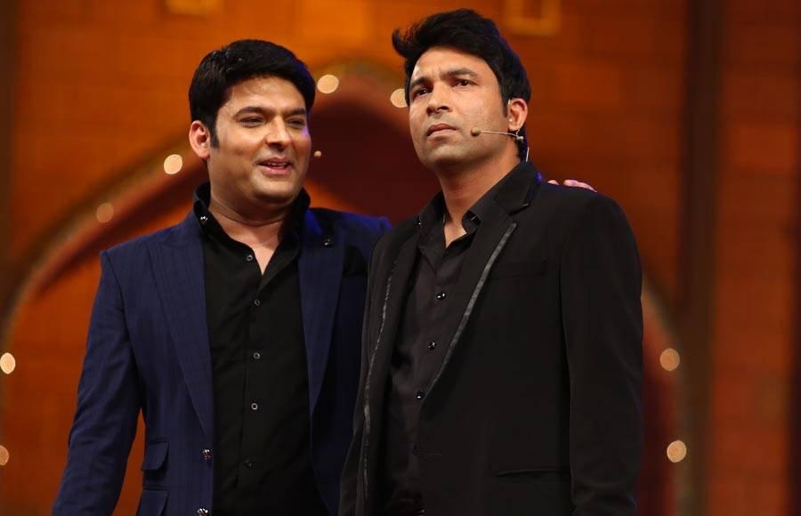 Shah Rukh Khan and Kapil Sharma