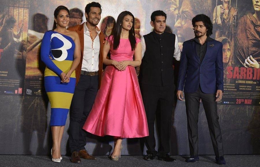 Trailer launch of Sarbjit