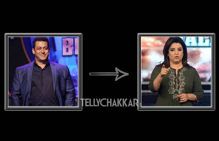 Farah Khan replaced Salman Khan in Bigg Boss