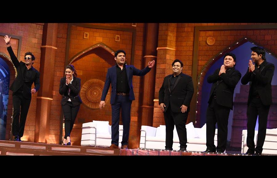 Kapil and his team