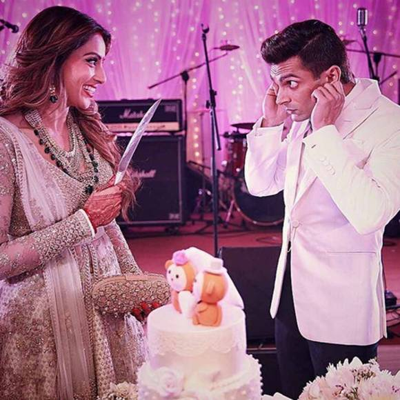KSG and Bipasha ----- (Source: The Wedding Story)