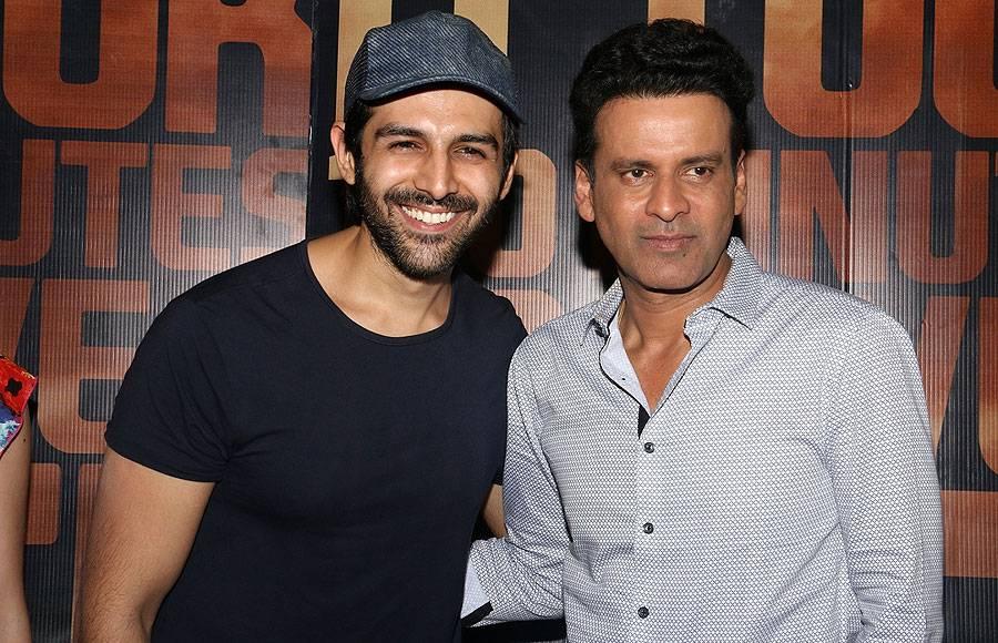 Kartik Aryan and Manoj Bajpayee