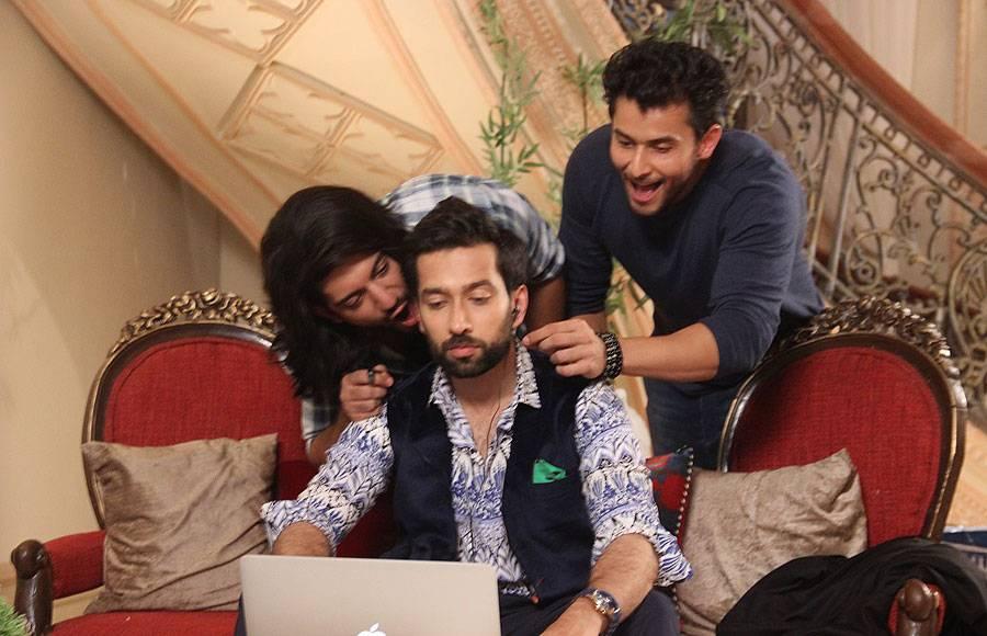 Nakuul Mehta, Kunal Jai Singh and Leenesh Mattoo