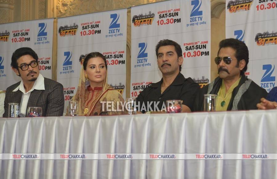 Launch of 'Amma' on Zee TV