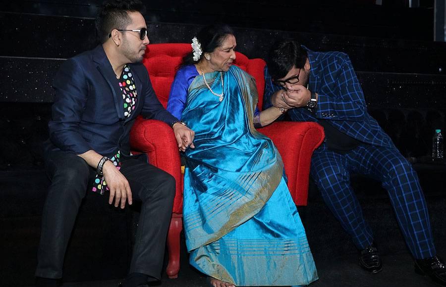 Pritam, Mika Singh, Asha Bhosle and Wajid Khan