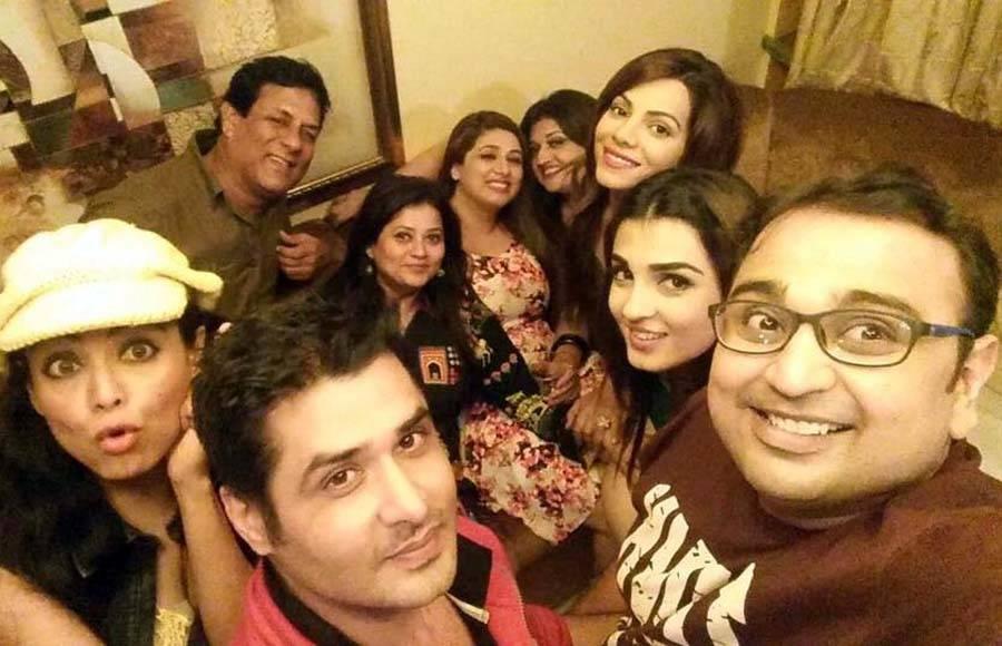 Ridhima Pandit's birthday bash