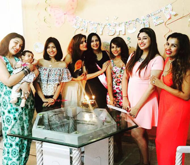 Chahatt Khanna's BABY SHOWER