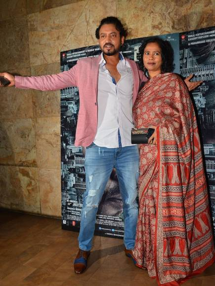 Irrfan Khan and Shah Rukh Khan