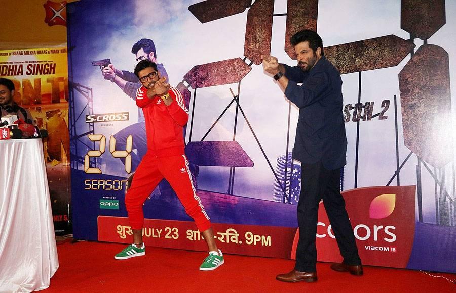 Ranveer Singh and Anil Kapoor
