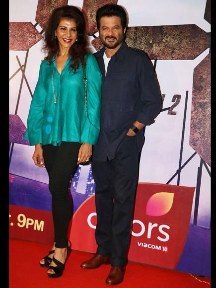 Anita Raj with Anil Kapoor